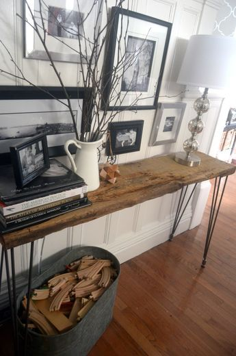 Console Table Project Home Diy Diy Console Table Home Office Decor