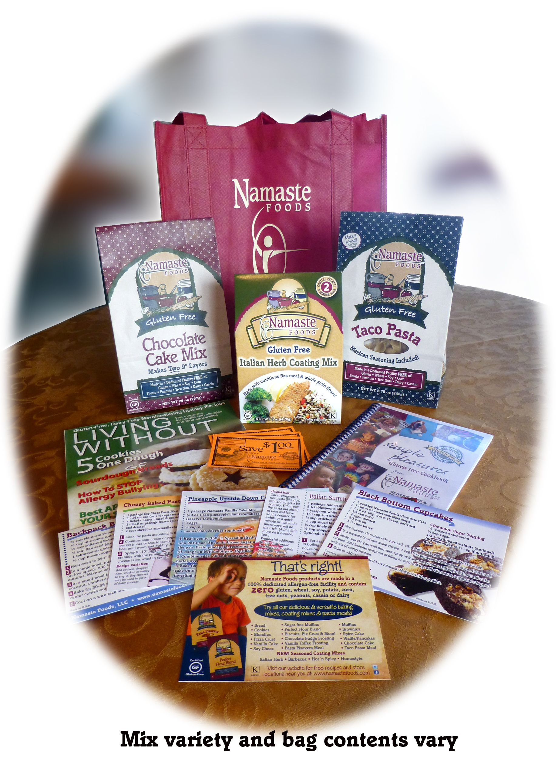 Namaste Foods Review! Gluten free giveaway (ends 9/25