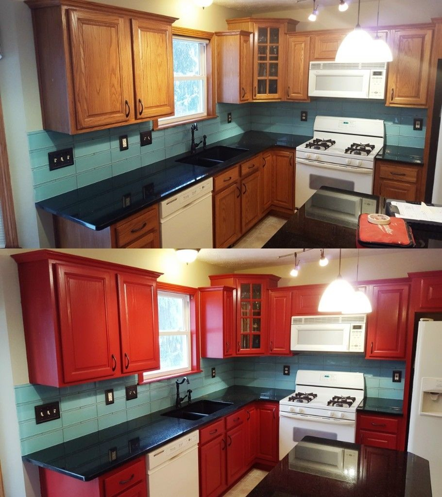Opaque Cabinet Color Change Nhance Revolutionary Wood Renewal Cabinet Colors Cabinet Kitchen Cabinets