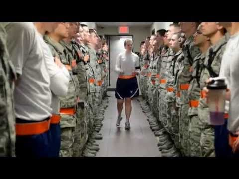 Air Force Officer Training School Class 13 05   YouTube