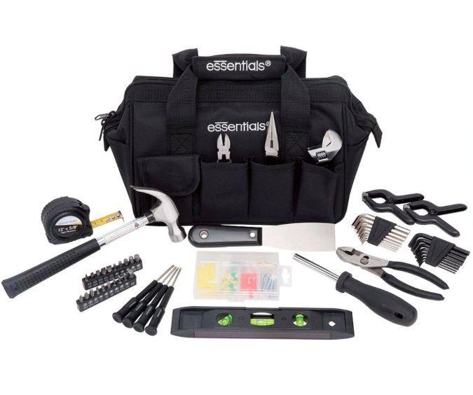 53 Piece House Tool Kit Tools Set Mechanic Diy Repair Around Home Pc ...