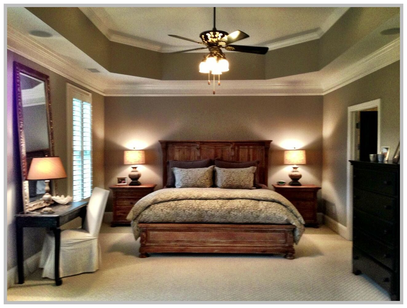 89 Reference Of Master Bedroom Tray Ceiling Ideas In 2020 Tray