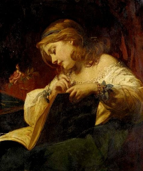 Reading and Art: James Sant