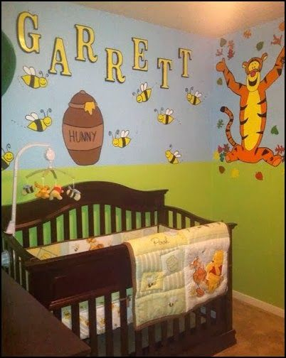 Winnie The Pooh Nursery Decorations Google Search
