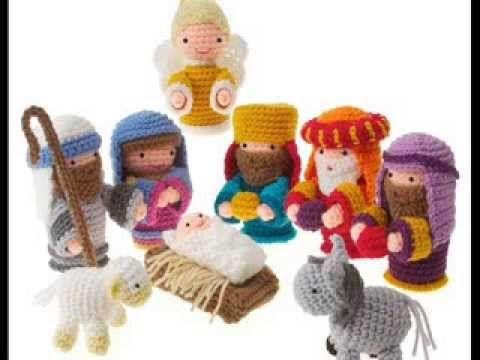 Amigurumi Navidad Nacimiento : Tutorial belén amigurumi part reyes magos nativity english