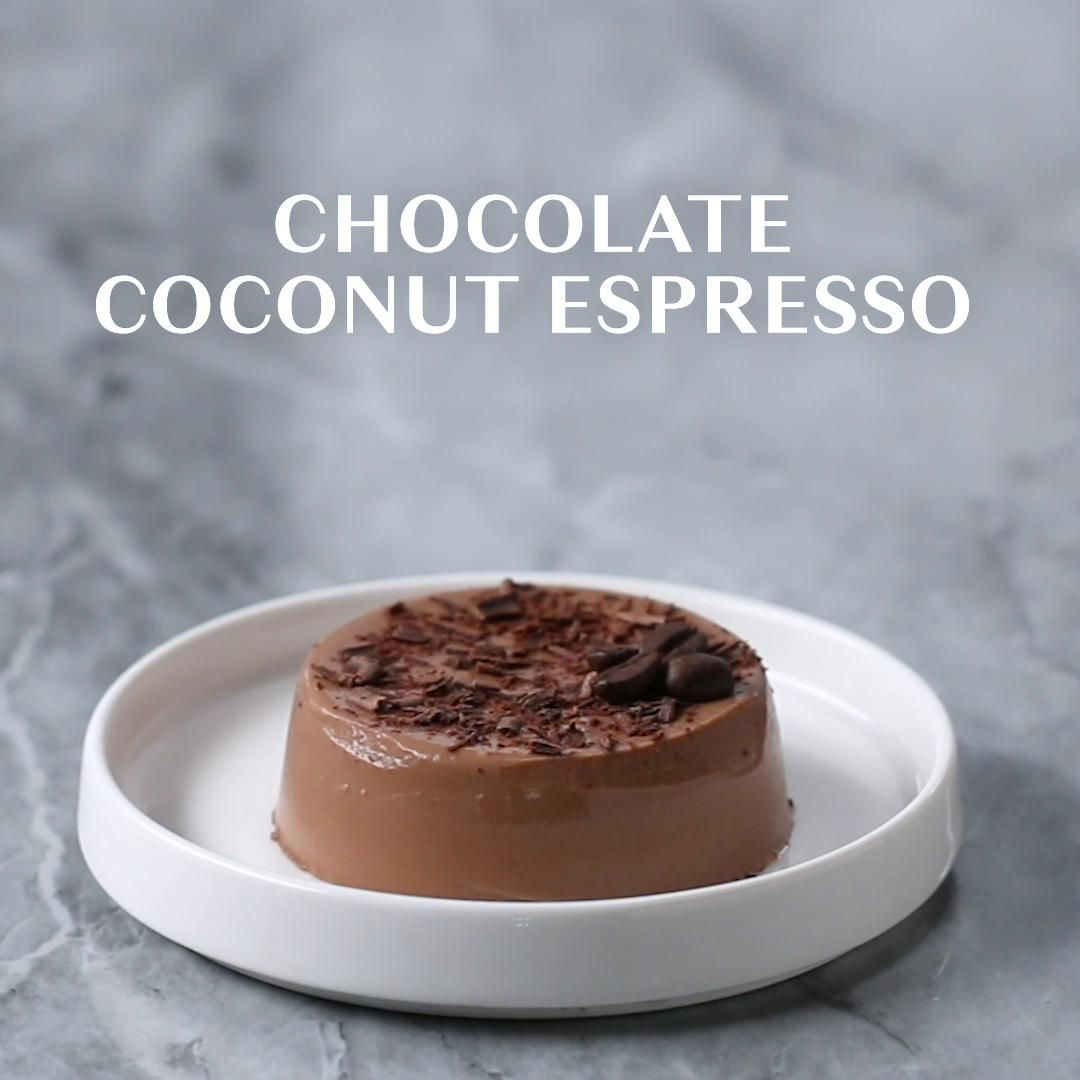 Dairy Free Chocolate Coconut Espresso Panna Cotta Recipe Dairy