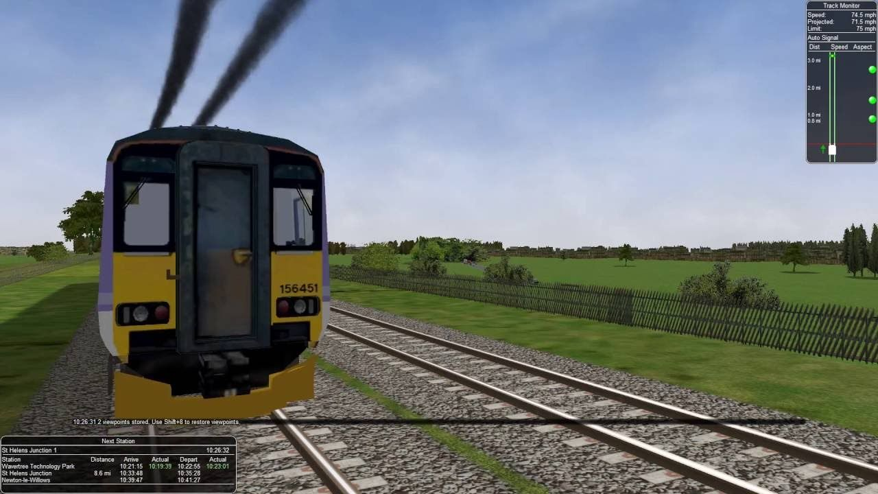 Let's Play Open Rails and MSTS on the Virtual Journey Leg 6