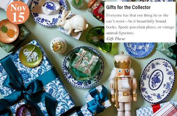 Perfect Presents Gifts for the Collector: www.teelieturner.com #Christmas