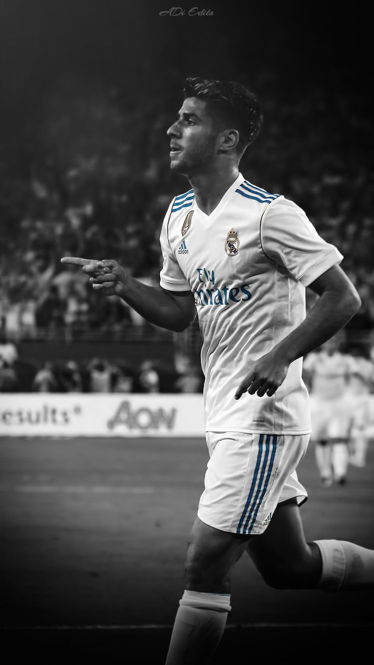 200a56f7a7 Marco Asensio Real Madrid Wallpaper Locscreen HD by adi-149