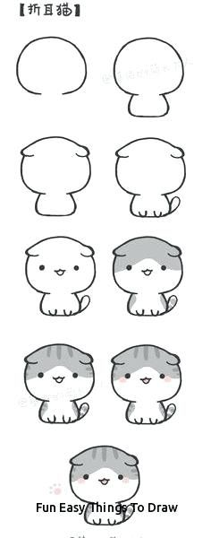 Easy Stuff To Draw Cute Easy Stuff To Draw Fun Easy Things To Draw Best Step Step Drawing Images Easy St Easy Animal Drawings Easy Manga Drawings Easy Drawings
