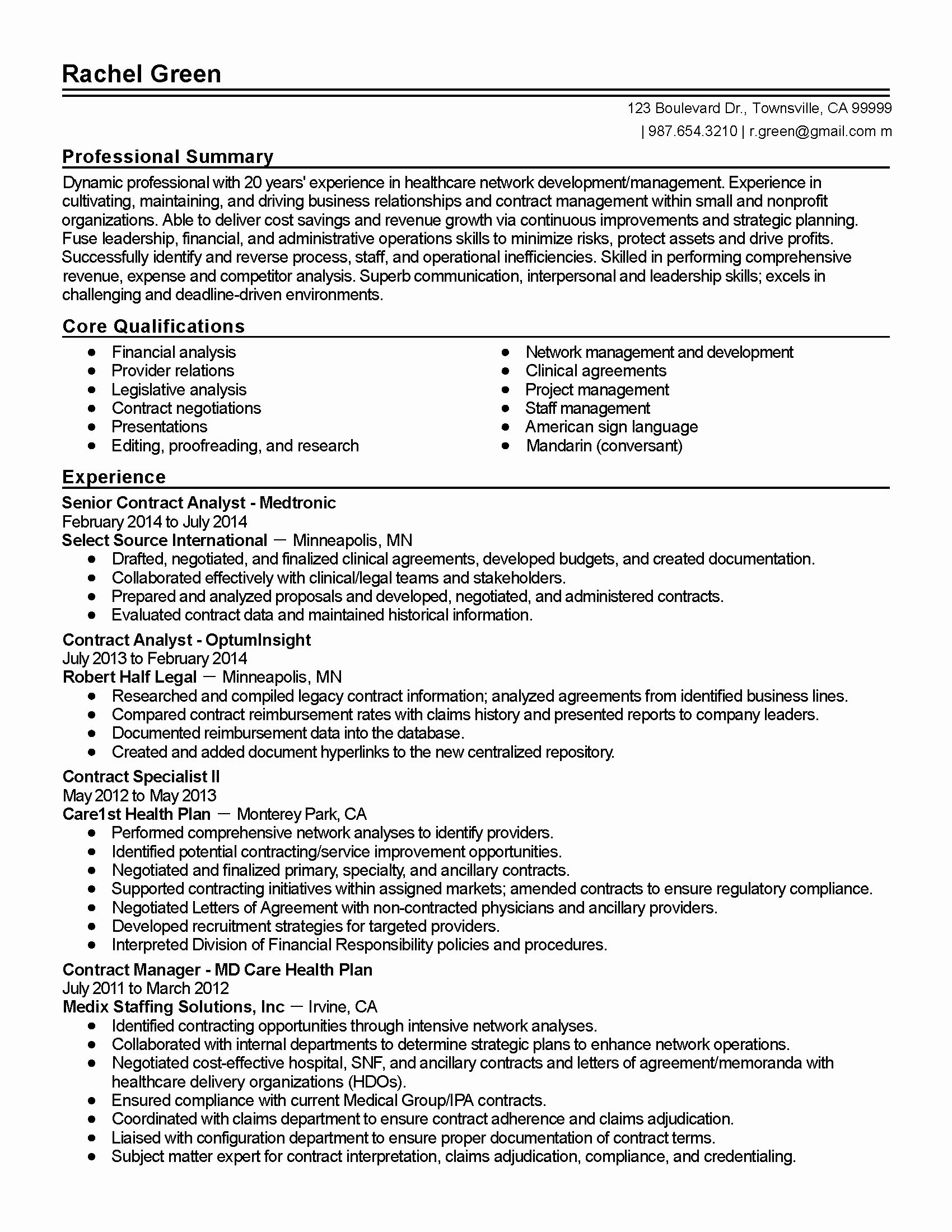 25 Health Care Business Analyst Resume Business Analyst