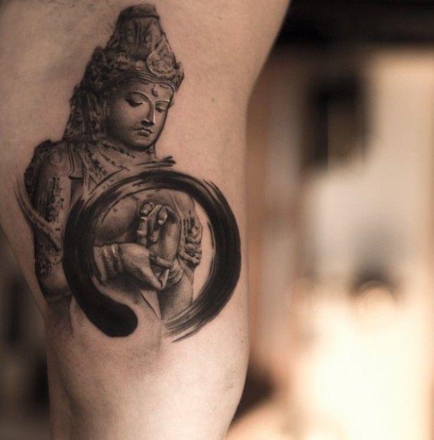 16 Zen Tattoos For Your Inner Peace In 2021 Zen Tattoo Buddhist Tattoo Buddha Tattoos