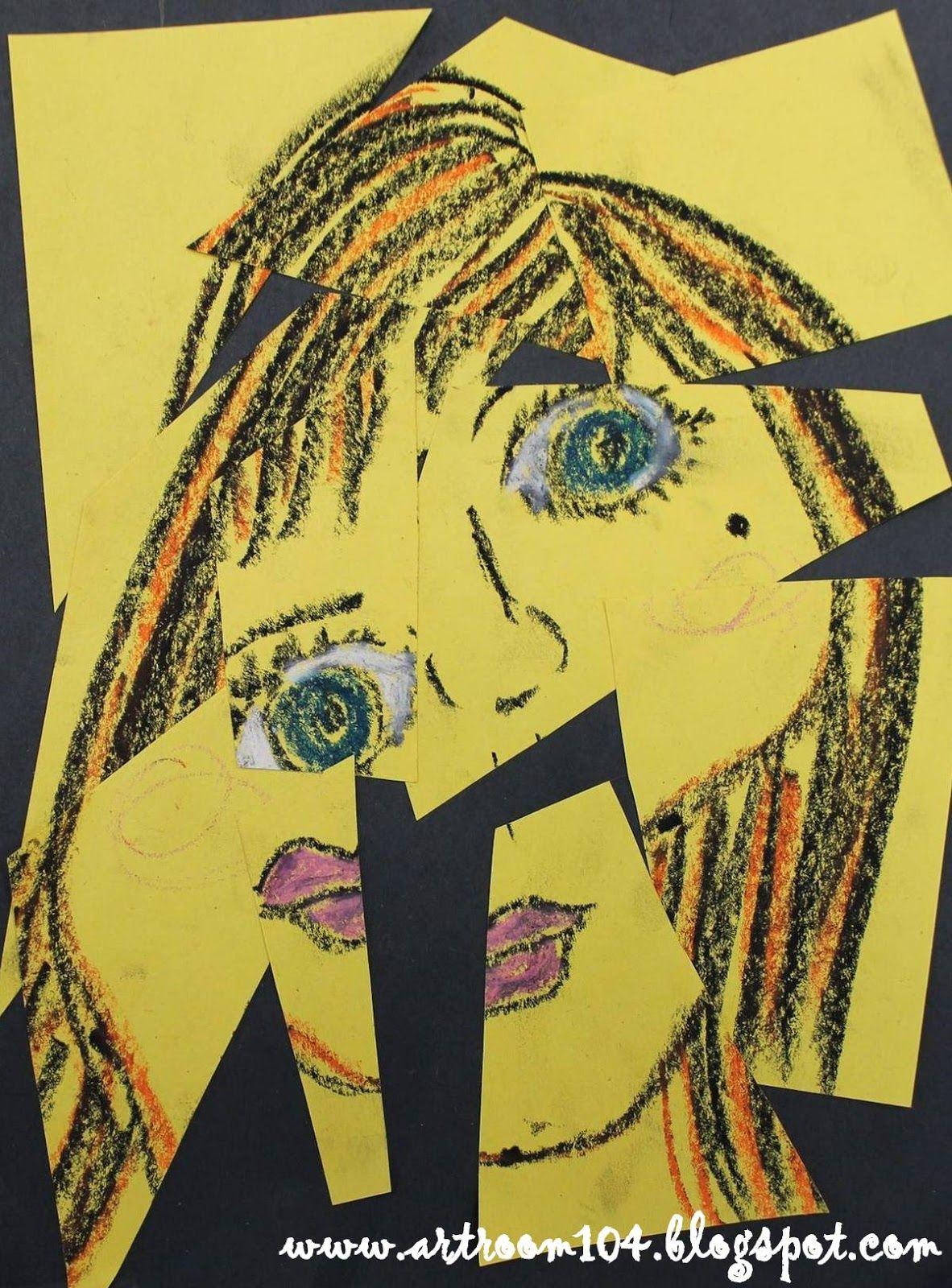 Art Room 104 YAM 3rd Grade Picasso