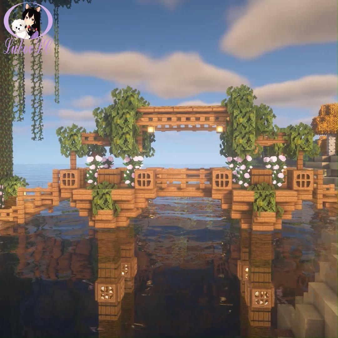 Gallery Fairy Bridge Minecraft ? Tutorial on youtube link in my bio is free HD wallpaper.