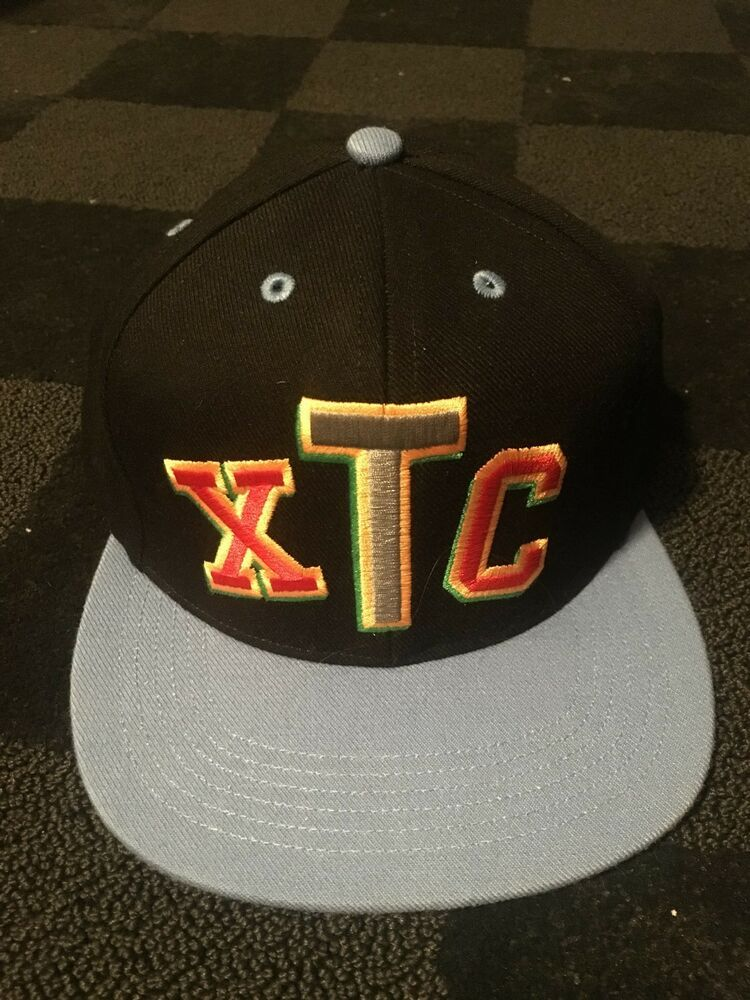 26c71a9fcaa Supreme XTC snapback Black Blue  fashion  clothing  shoes  accessories   mensaccessories  hats (ebay link)