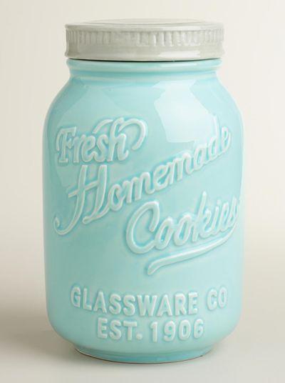 Airtight Cookie Jar Mason Jar Ceramic Cookie Jar  Future Home  Pinterest  Ceramic