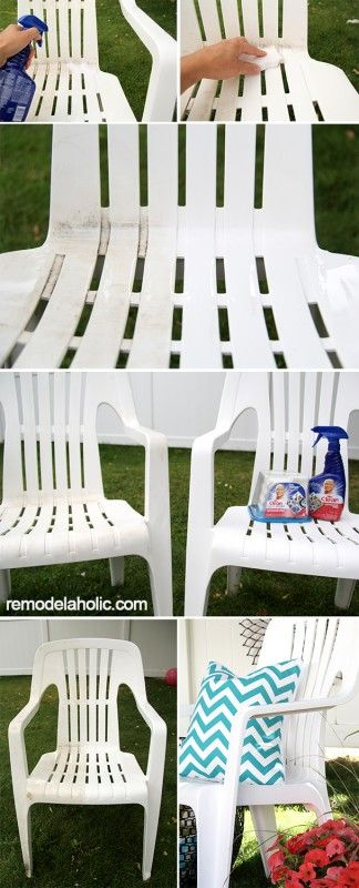 Cleaning Outdoor Vinyl Chairs To Look Like New Sponsored Vinyl