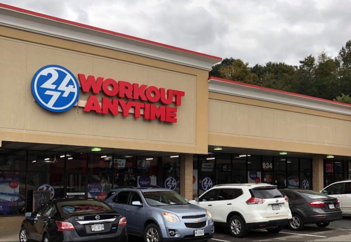 Rocky Mount Virginia Anytime Fitness Workout Gym Franchise