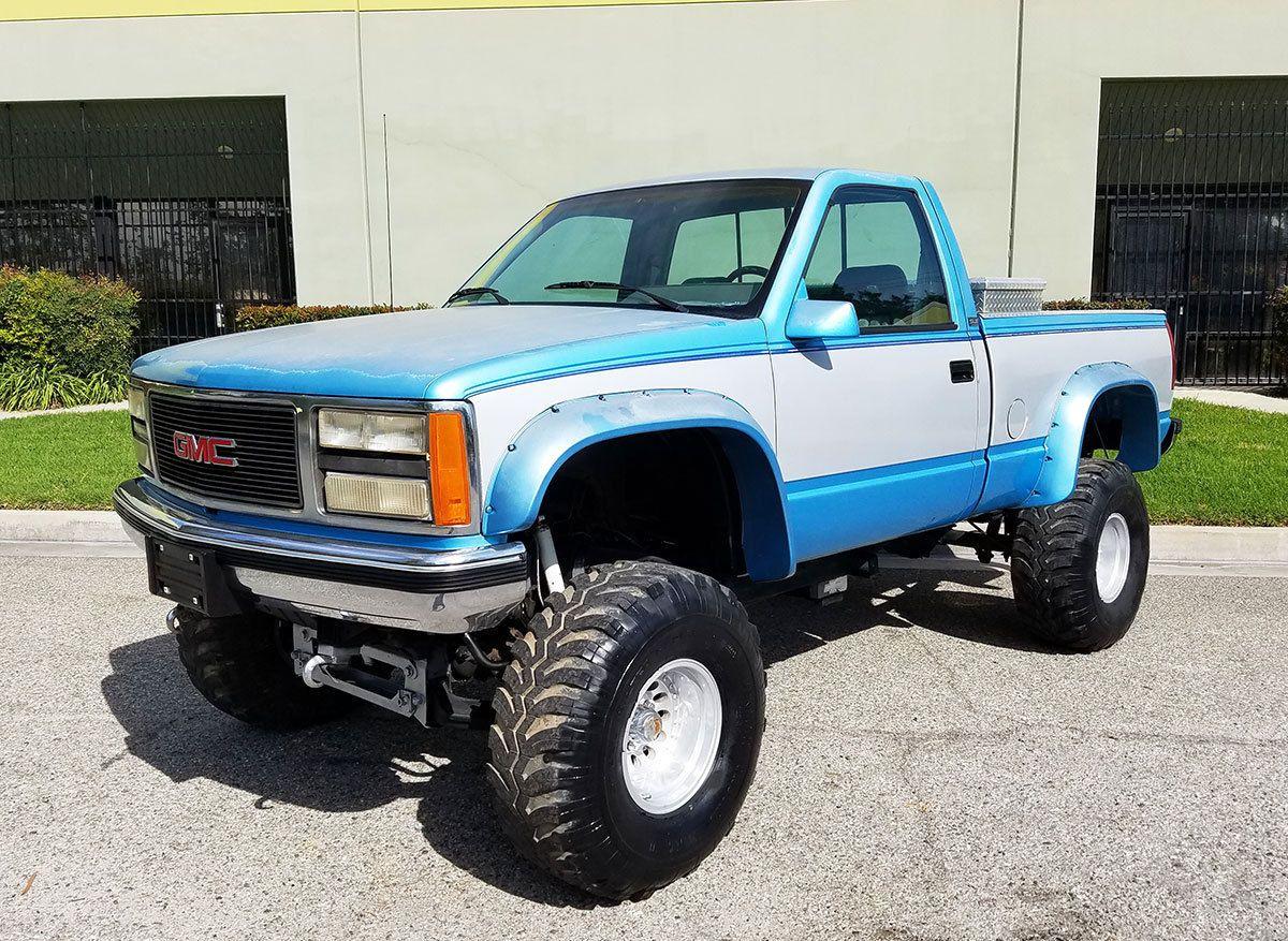 1993 gmc sierra 1500 4x4 custom trucks for sale pinterest sierra 1500 4x4 and gmc trucks. Black Bedroom Furniture Sets. Home Design Ideas