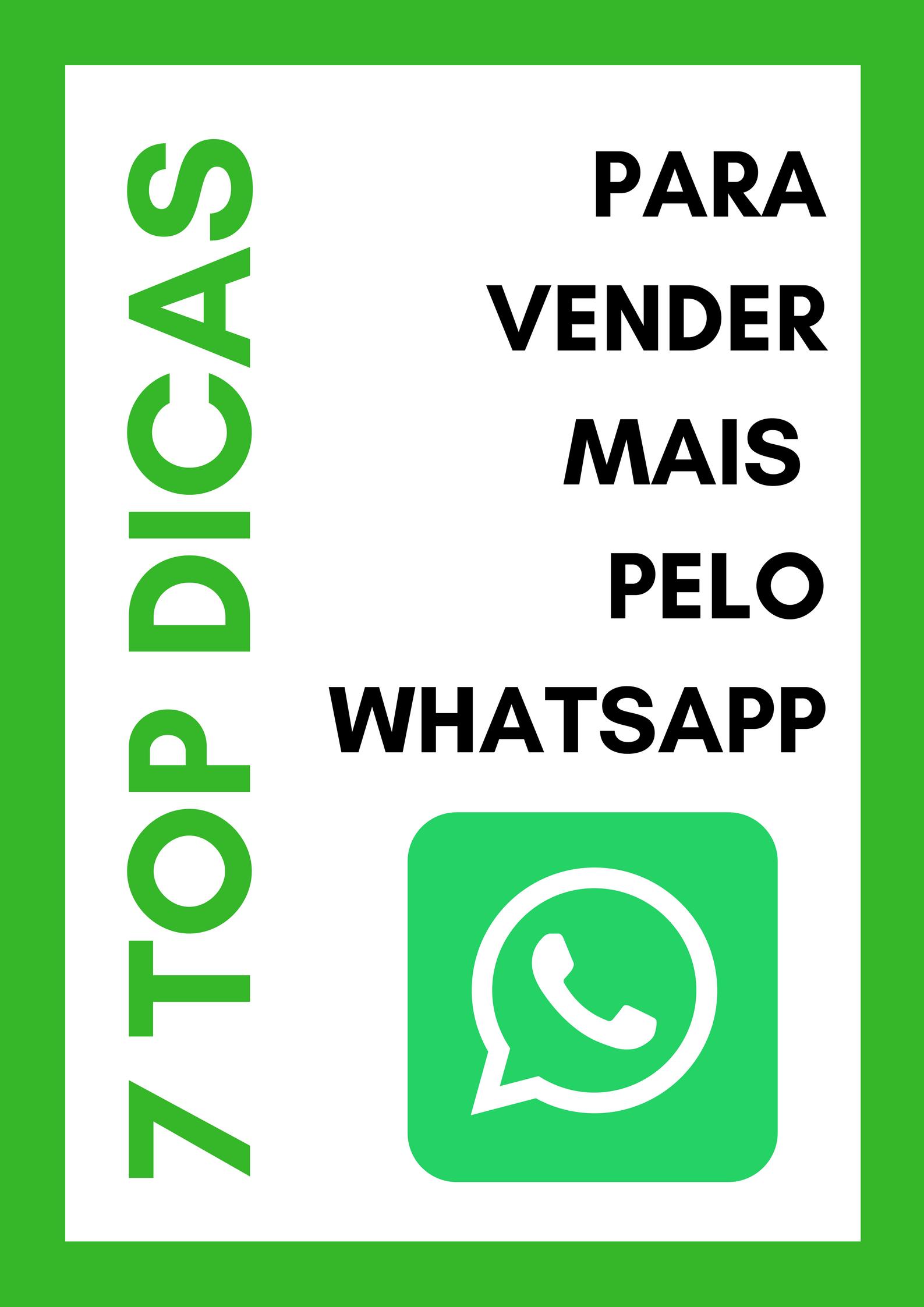 Como Vender Pelo Whatsapp Businessvender Mais Pelo Whatsappcomo