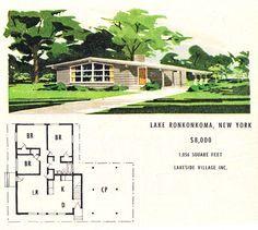 Mid Century Modern House Plans B Mid Century Floor Plans B On Pinterest Vintage B House Plan Haus Aus Der Jahrhundertmitte Neubau Plane Moderne Grundrisse