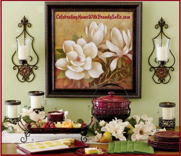 Home Interior Decorating Catalogs: All Decor, From The Table To The Walls, We Got It All