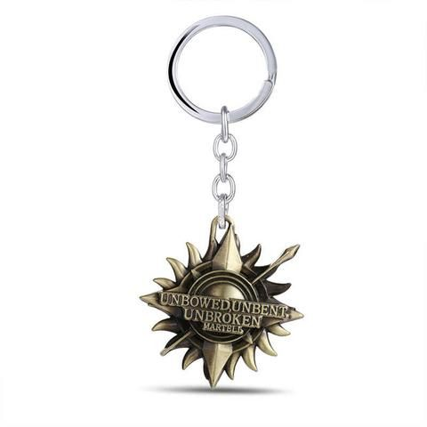 GAME OF THRONES Family Crests Keychain