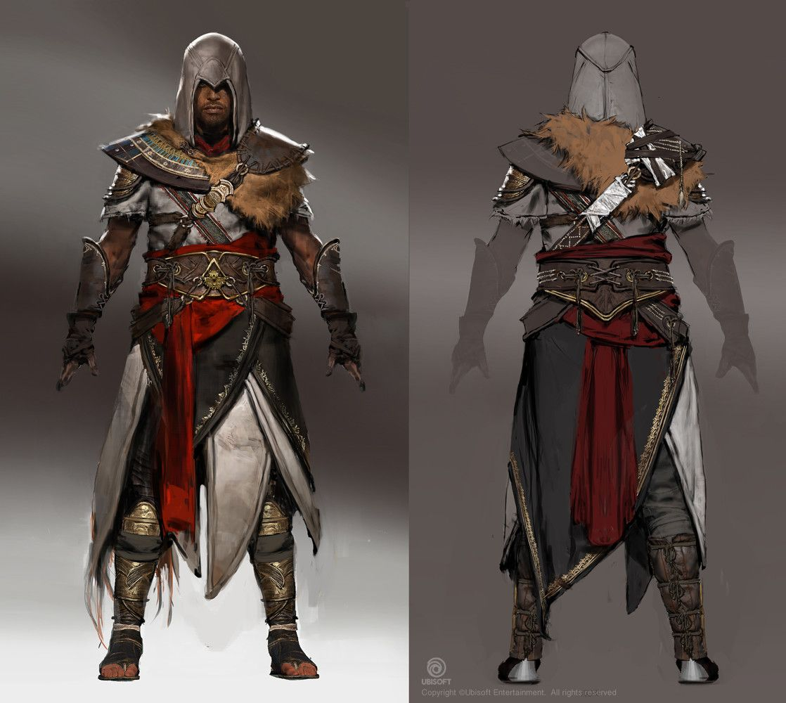 Assassin S Creed Origins The Hidden Ones Dlc Outfits Bayek And