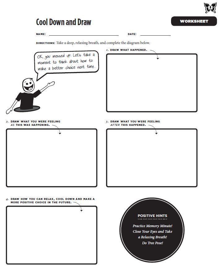 Depression and Anxiety Worksheets – webmart.me
