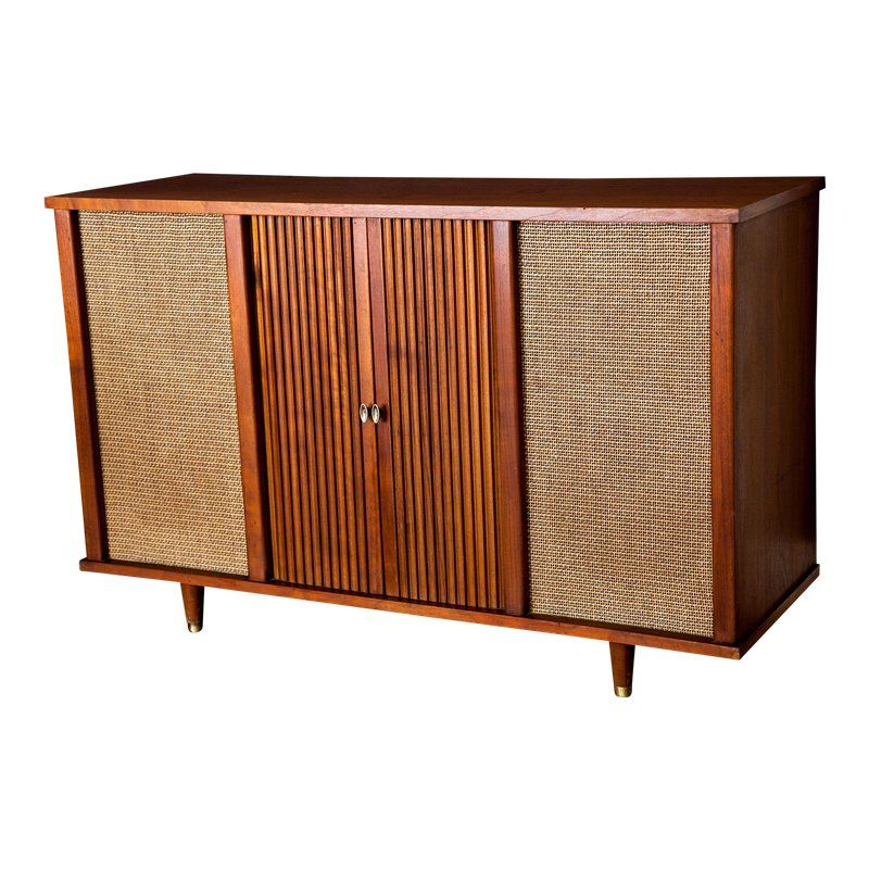 Vintage 1960s Mid Century Modern Curtis Mathes Stereo Console Bar Tv Stand Stereo Console Vintage Stereo Console Custom Modern Furniture