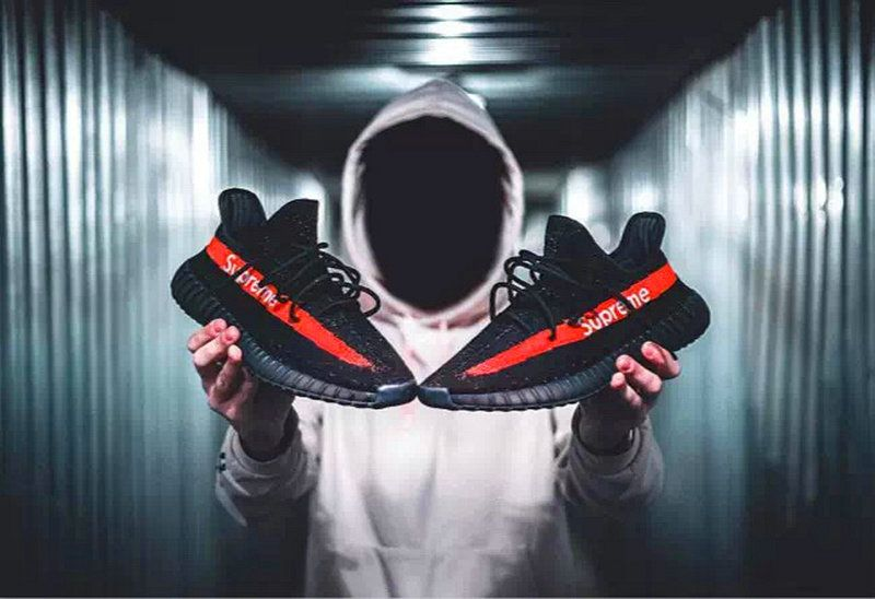 b28ac8f5ff4c Cheapest And Latest Authentic 2018 Superme X Adidas Boots Yeezy 350 V2  Superme X Core Black Red