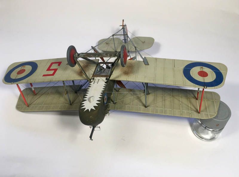 Wingnut Wings 1 32 AMC DH2 Large Scale Planes Military - how would you weigh a plane without scales