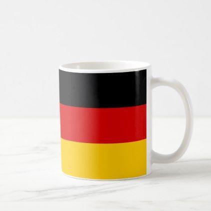 Germany flag coffee mug diy cyo customize create your own