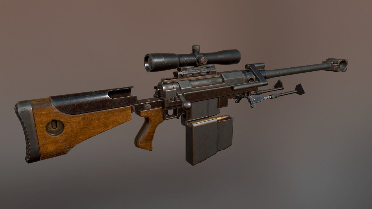 8/12/17 hecate 2 antimaterial sniper rifle by Primnull and