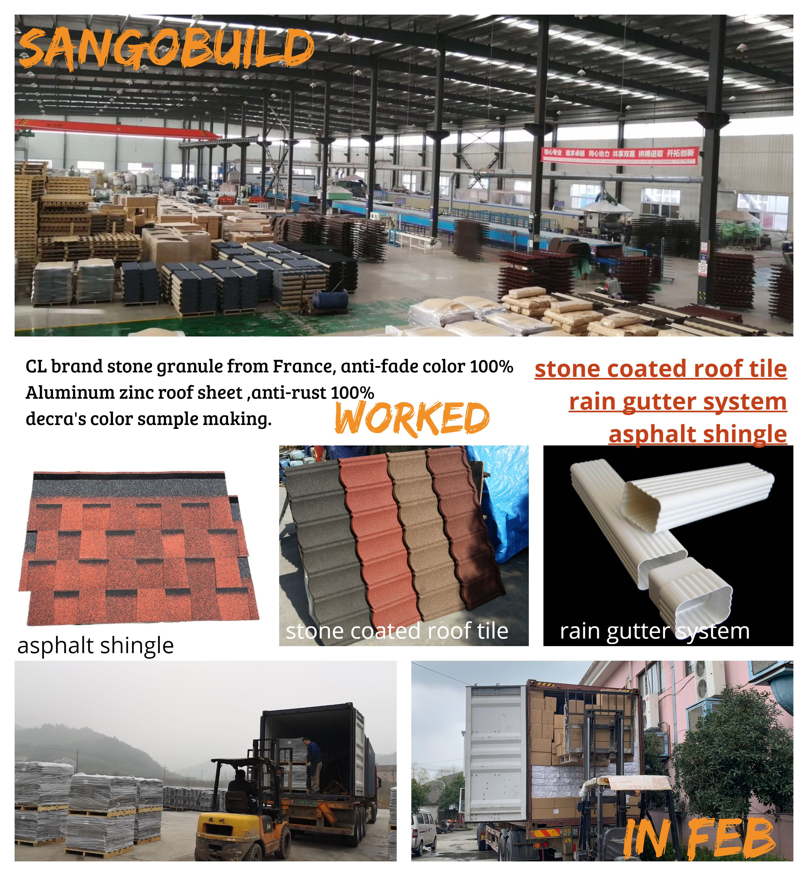 Sangobuild February Achievement 1 Sangobuild Developed The New Market South Korea And Japan In February 2019 Zinc Roof Modern Roof Design Metal Roof Houses