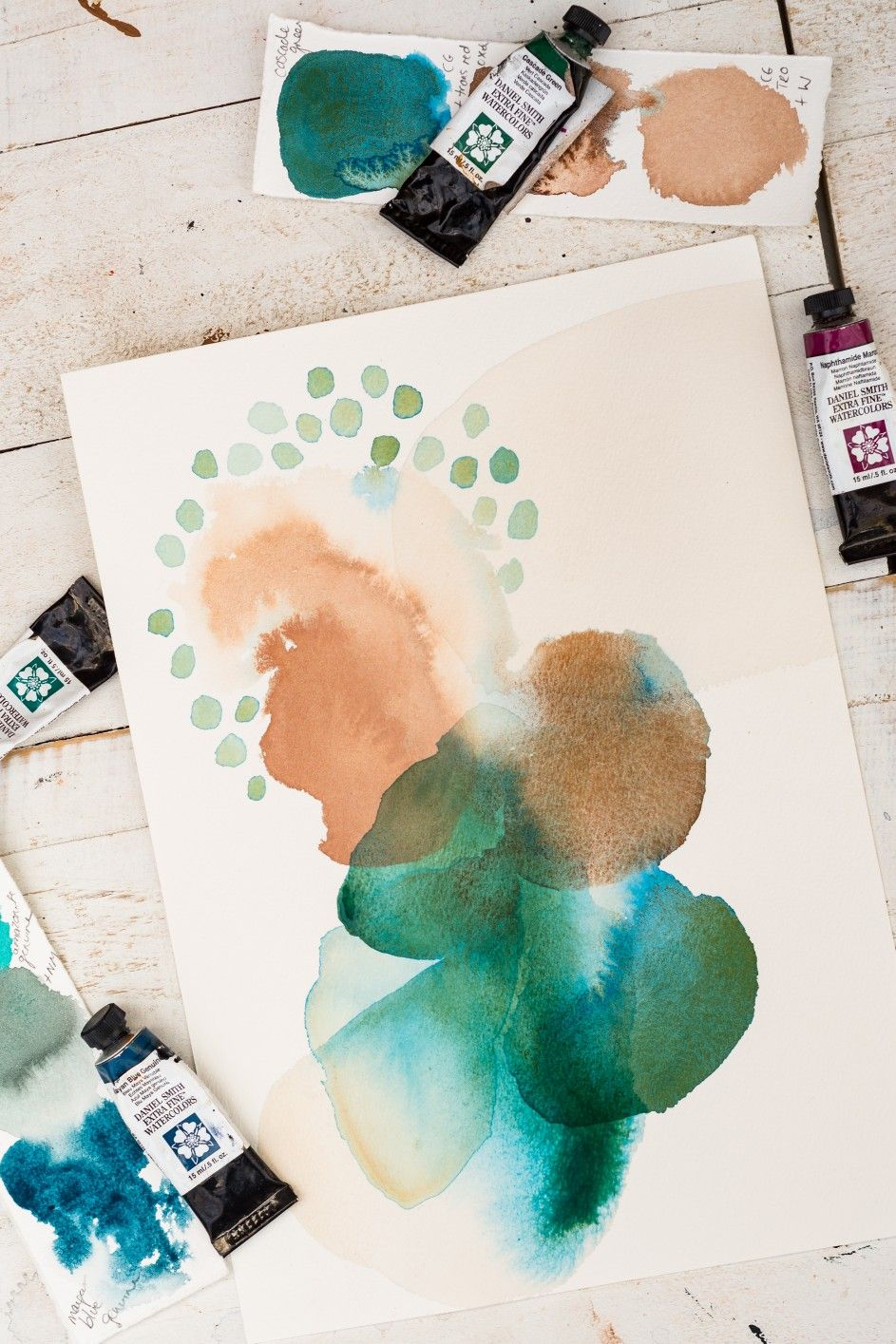 Watercolour Abstract By Laura Horn Abstract Watercolor Art