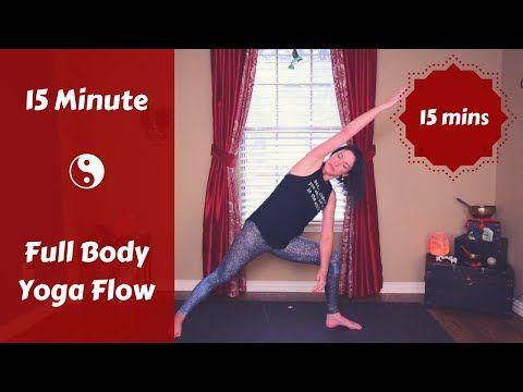 yoga for busy days  15 min full body flow  sivana east