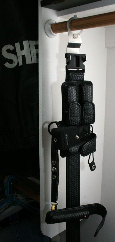 law enforcement - duty belt hanger | Police gifts