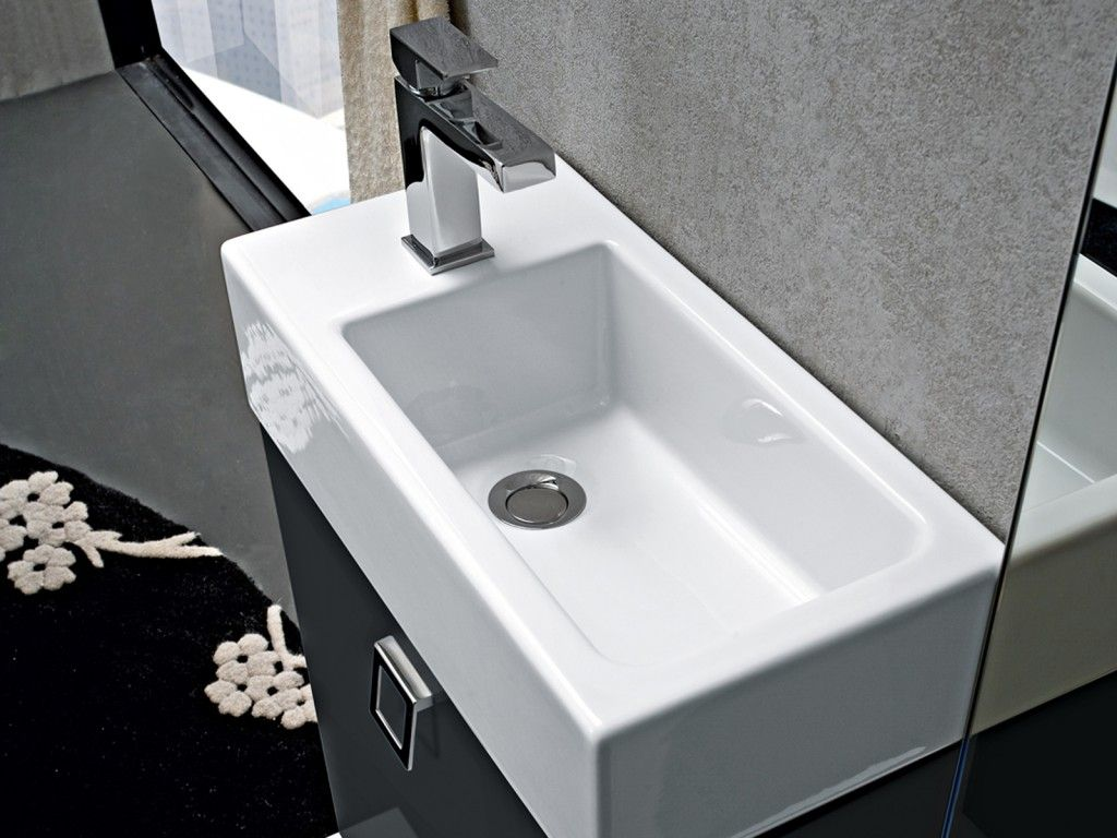 Per Il Lavabo Bastano 25 Cm Lavabo In Ceramica Appoggiato