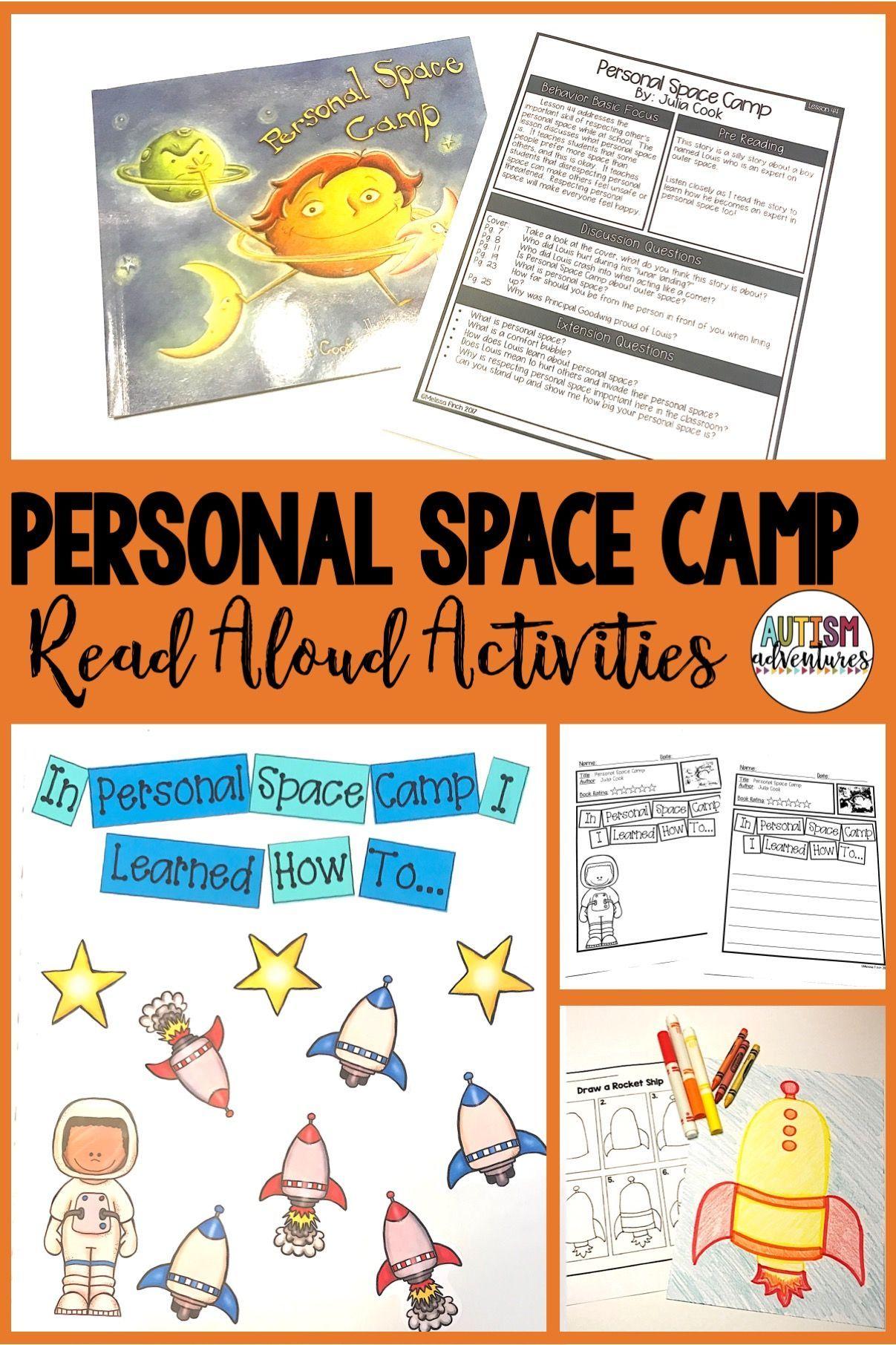 Personal Space Camp Behavior Basics Book Club Space Camp Space Camp Activities Personal Space