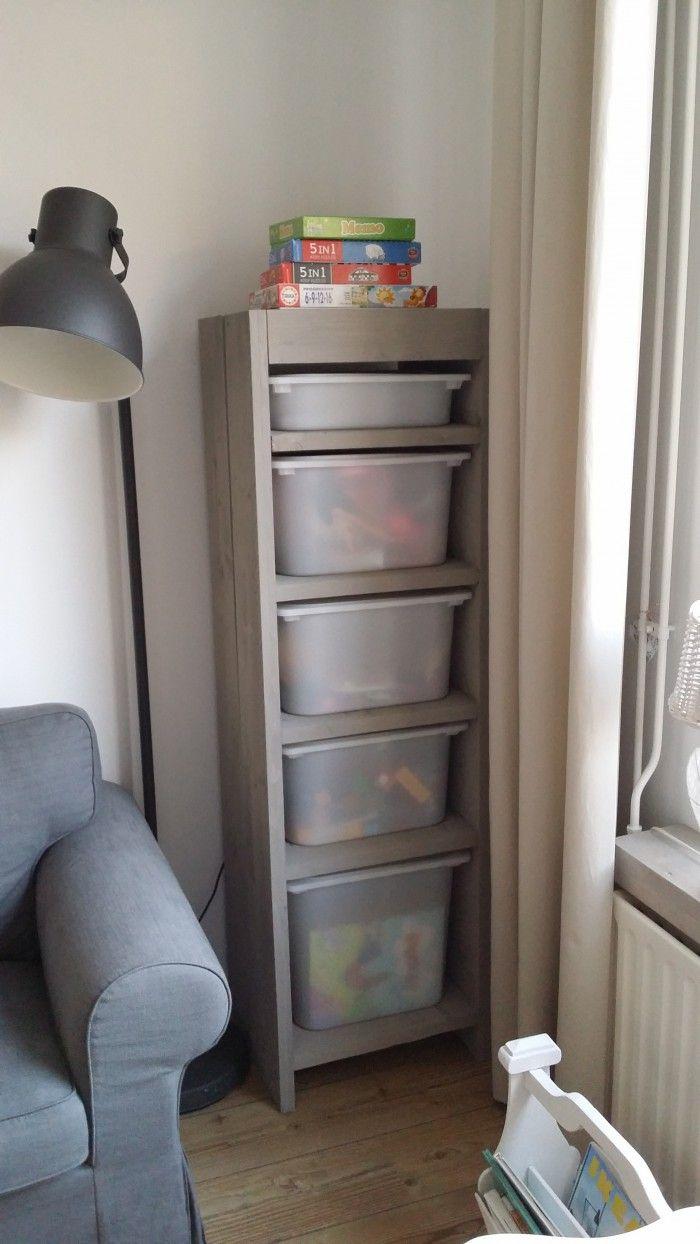 Een handige opbergkast voor het speelgoed van onze kinderen.. het ...