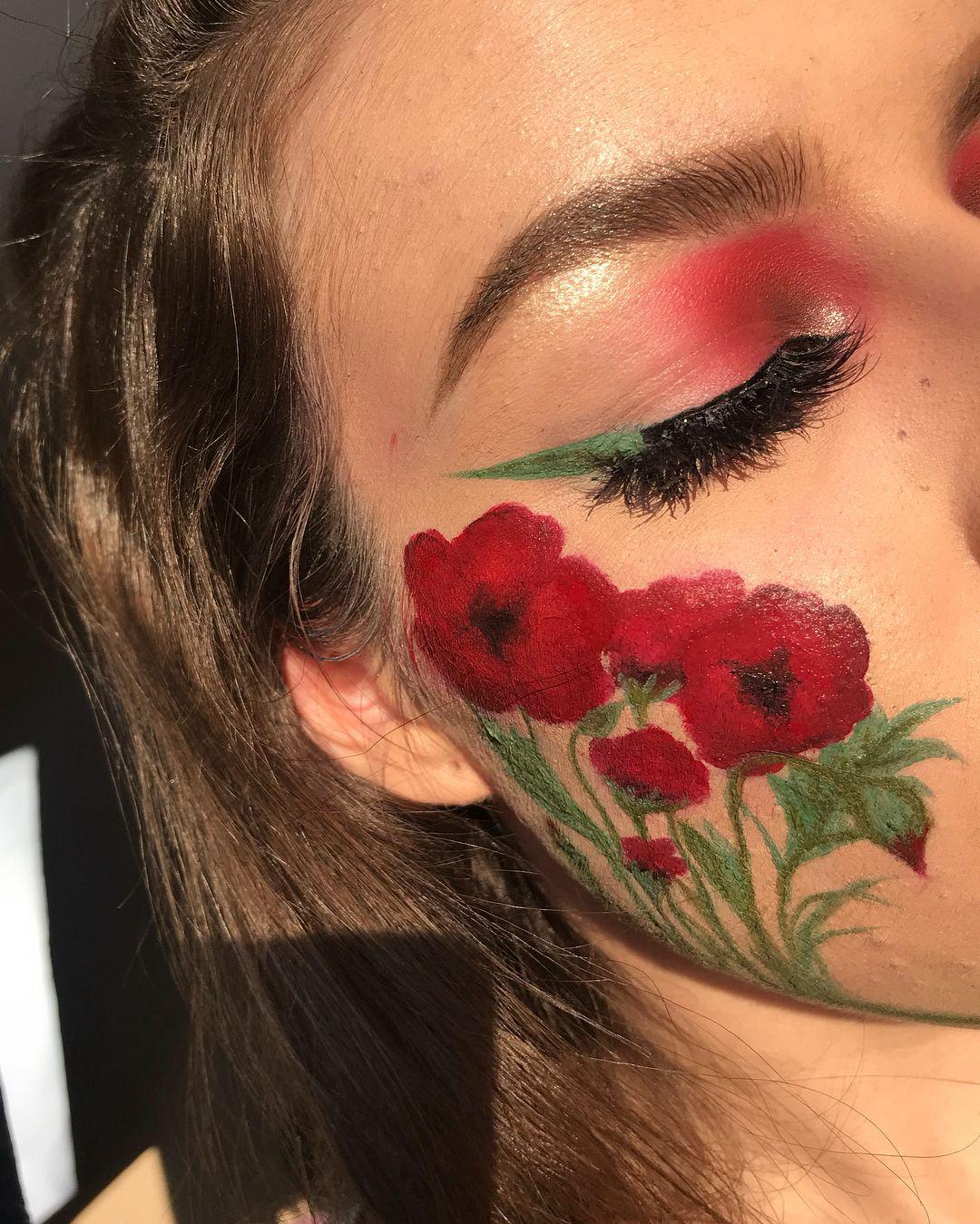 POPPY // FLOWER COLLAB 💫🌺 (wish there was a poppy emoji)_I