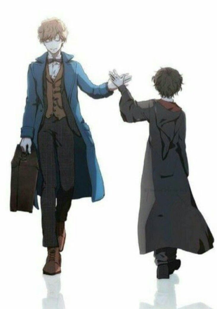 Harry S Going And Newt Is Coming Harry Potter Art Harry Potter Anime Harry Potter Fan Art