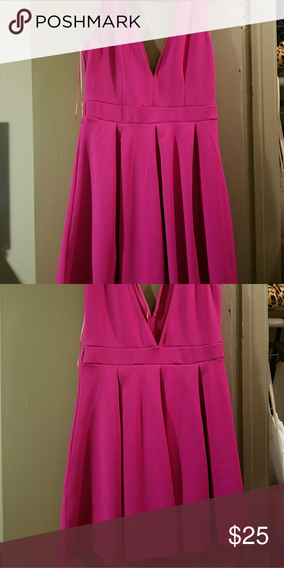 Boohoo Pink party dress