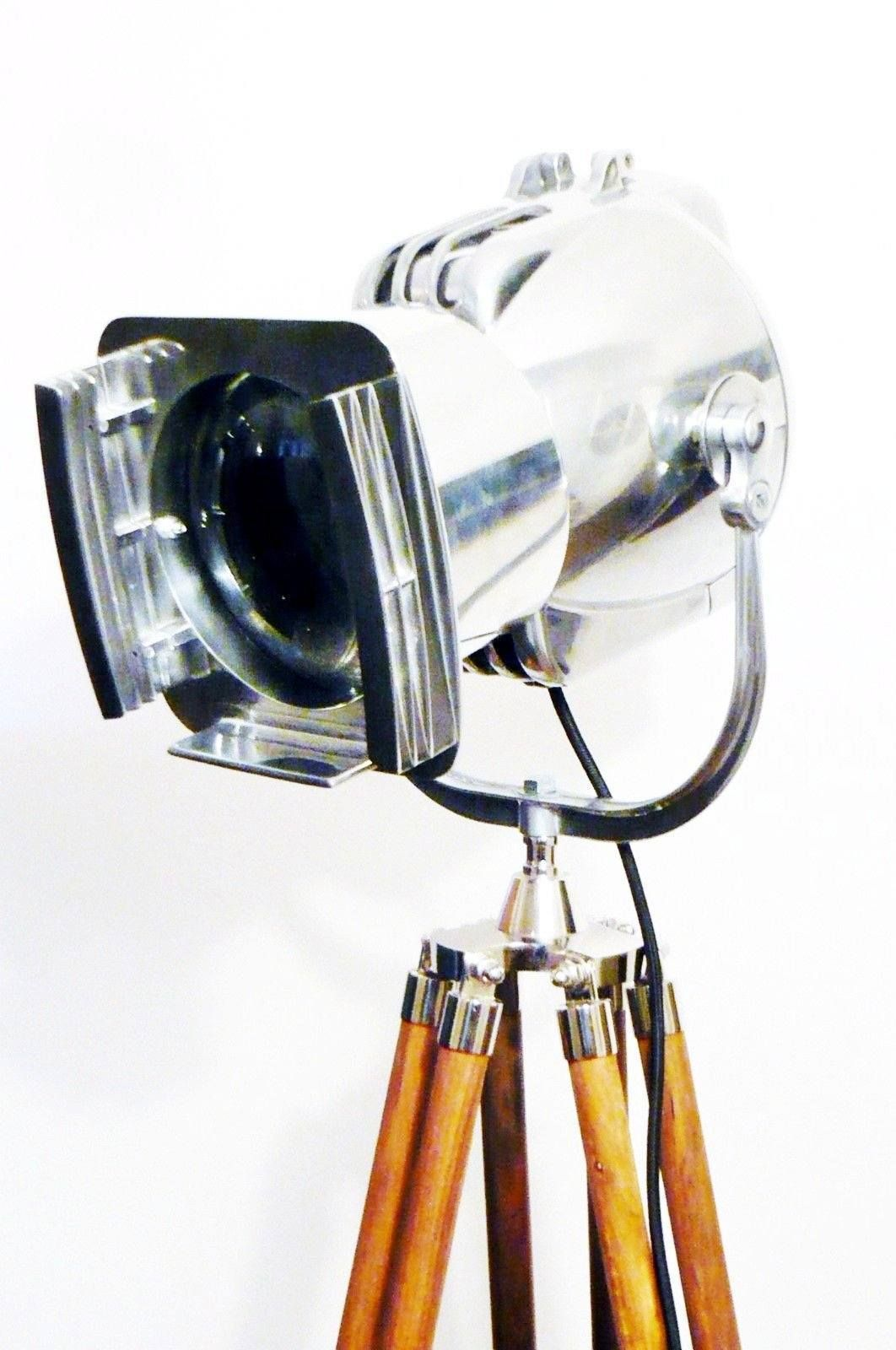 1950\'S VINTAGE FILM LAMP INDUSTRIAL FLOOR LIGHT BY STRAND OF LONDON ...
