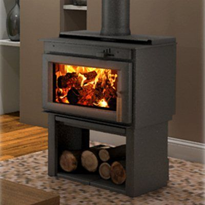 Drolet Db03200 Deco Contemporary Style Wood Stove Atg Stores Wood Stove Freestanding Fireplace High Efficiency Wood Stove