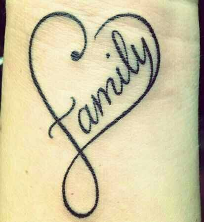 Tattoos Words Heart Designs Families The O Jays Tattoos Heart Tattoos Word Tattoos Family Heart Tattoos One Word Tattoo
