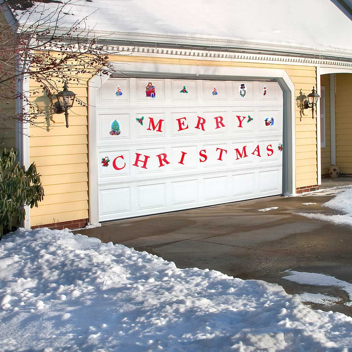 Christmas Garage Door Magnets