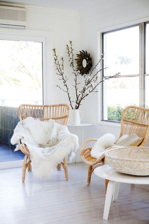 Rattan Chairs Living Room