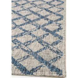 Photo of benuta Plus In- & Outdoor-Teppich Cleo Blau 200×290 cm – für Balkon, Terrasse & Garten